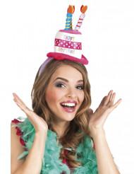 Serre-tête chapeau anniversaire adulte