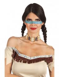 Ras de cou indien femme