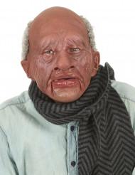 Masque adulte latex grand-père avec bouche articulée adulte