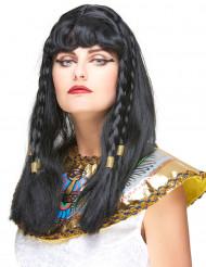 Perruque reine du nil femme