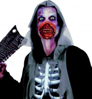 Bouche zombie Halloween