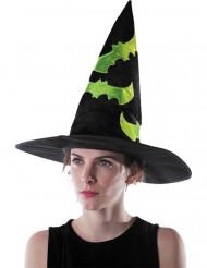 Chapeau sorcière réfléchissant adulte Halloween
