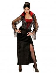 Déguisement vampire dentelle femme Halloween