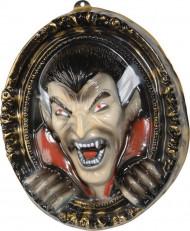 Décoration murale tableau vampire 3D 37 x 43 cm Halloween