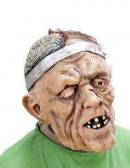 Masque patient opéré de la tête adulte Halloween