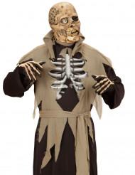 Masque zombie à un oeil adulte Halloween