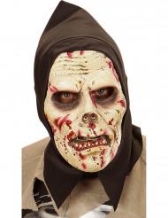 Masque zombie à capuche adulte Halloween