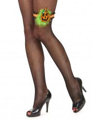 Jarretière citrouille femme Halloween