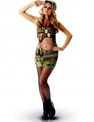 Déguisement classique militaire sexy adulte