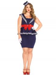 Déguisement robe marin femme