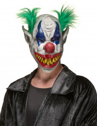 Masque latex clown hideux adulte Halloween