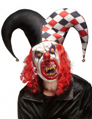 Masque latex joker terrifiant adulte Halloween