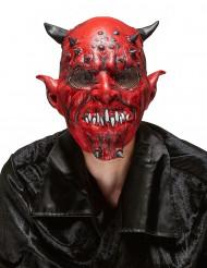 Masque latex démon adulte Halloween