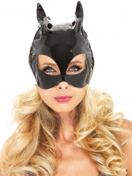 Masque chat vinyle adulte
