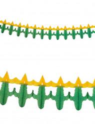 Guirlande papier cactus 3 m