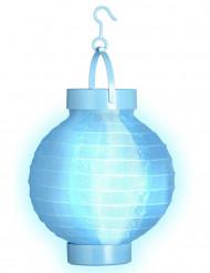 Lanterne lumineuse bleue 15 cm