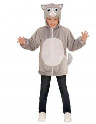 Veste à capuche chat enfant