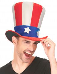 Chapeau haut de forme USA adulte