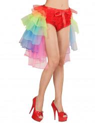 Tutu burlesque multicolore femme