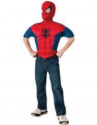 Plastron et cagoule enfant Spiderman™ Ultimate
