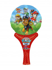 Ballon aluminium gonflable Pat'Patrouille™ 15 x 30 cm
