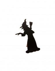 Menu ardoise Sorcière Halloween 24.5 cm