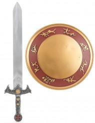 Kit Gladiateur épée et bouclier Enfant