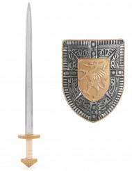 Kit épée et bouclier Enfant