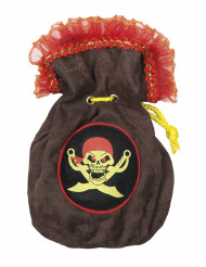 Bourse pirate 24 cm
