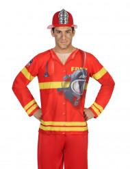 T-shirt pompier homme