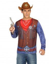 T-shirt cowboy homme