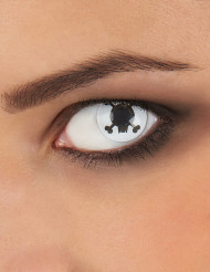 Lentilles de contact fantaisie pirate adulte