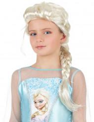 Perruque tressée blonde princesse fille
