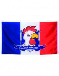 Drapeau supporter Allez France 90 X 150 cm