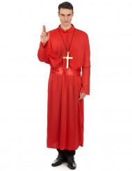 Déguisement prêtre rouge adulte