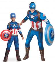 Déguisement de couple Captain America™ père fils