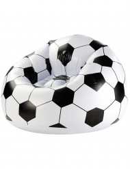 Fauteuil gonflable ballon de football