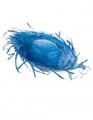Chapeau Hawaï bleu adulte