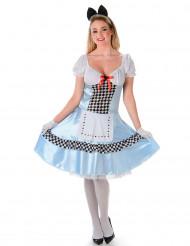 Déguisement miss Alice femme