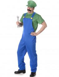 Déguisement plombier vert homme