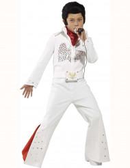 Déguisement blanc Elvis™ garçon