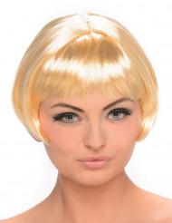 Perruque blonde carré court femme