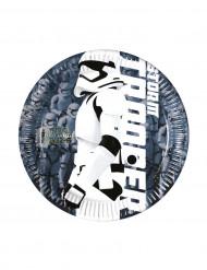 8 Petites assiettes Stormtrooper STAR WARS VII ™