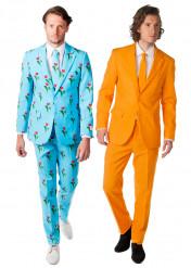 Déguisement de couple Opposuits™ Tulipe et Orange homme
