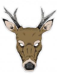 Masque papier renne