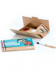 Kit maquillage 3 couleurs pirate & coccinelle BIO Namaki Cosmetics ©
