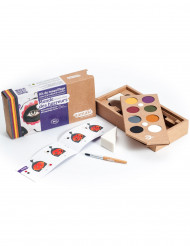 Kit maquillage 8 couleurs Monde des Horreurs BIO Namaki Cosmetics © Halloween