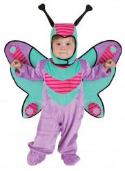 Déguisement papillon violet bébé
