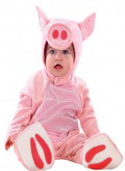 Déguisement combinaison cochon bébé