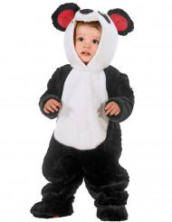 Déguisement combinaison panda bébé